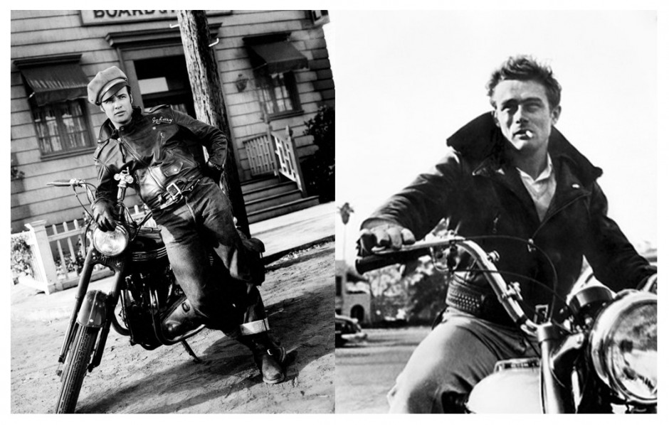 Marlon Brando, James Dean
