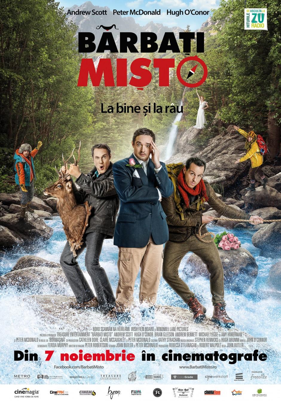 Poster Oficial Barbati Misto