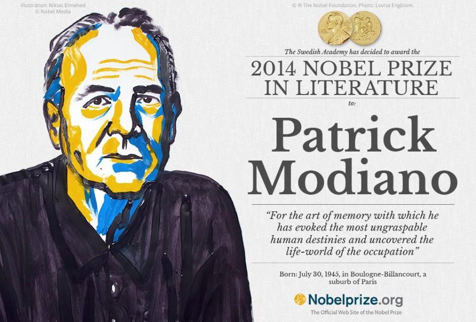 Patrick ModianoCitiți în Ziarul Metropolis > http://www.ziarulmetropolis.ro/patrick-modiano-a-castigat-premiul-nobel-pentru-literatura/