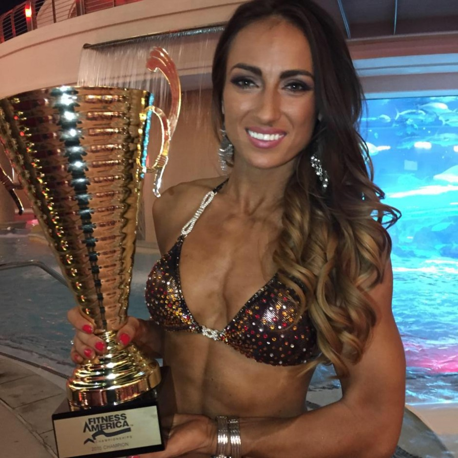 Anca Bucur Miss Fitness