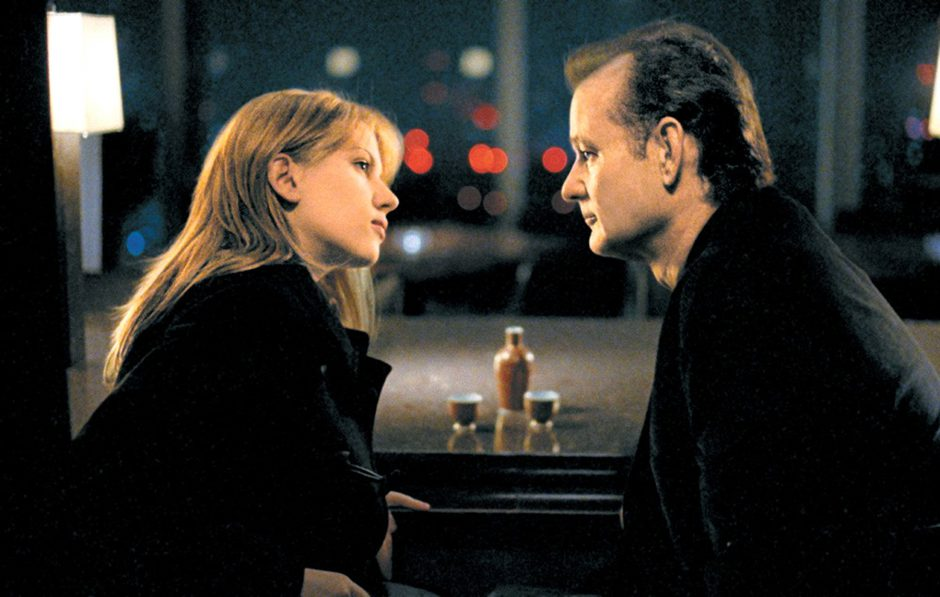 Aug 29, 2003; Hollywood, CA, USA; SCARLETT JOHANSSON as Charlotte and BILL MURRAY as Bob Harris in the dramatic comedy Lost