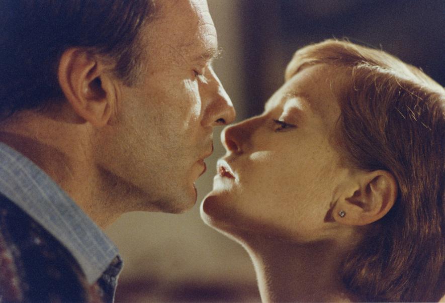 Jean-Louis Trintignant (Vic Allen) et Isabelle Huppert (Mélanie)