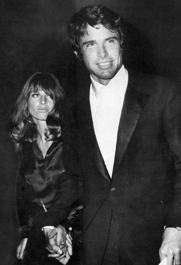 Julie Christie and Warren Beatty