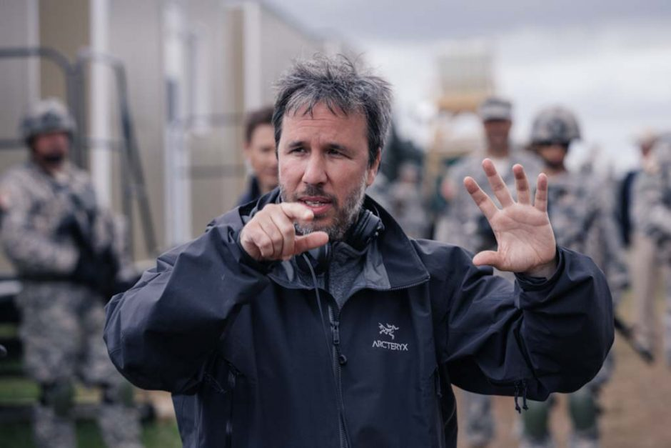 Director Denis Villeneuve in ARRIVAL by Paramount Pictures